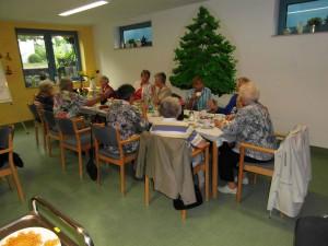 Besuch im Pflegezentrum