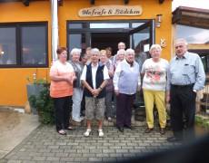 OV Espenau-Besuch in Schweitzer`s Hofcafe