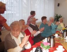 Plauderstunde mit Ehrungen von langjährigen Mitgliedern am 30.01.2015