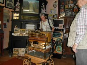 Drehorgel im Musikmuseum