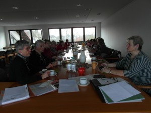 Jahreshauptversammlung AWO Fuldatal. Zunächst Kaffeetafel