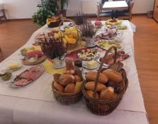 Tagesbericht zum Erntedankfrühstück