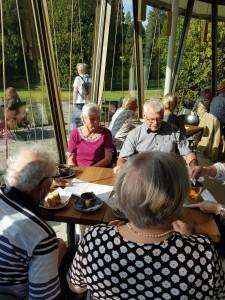 AWO Fuldatal: Ausflug in den neuen Pavillon bei Siebenbergen